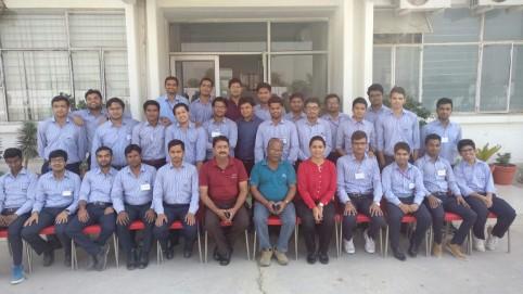 Mandeep Kochhar Recent Training With MNC At Alwar, Rajasthan